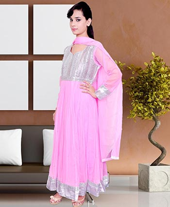 CHURIDAR SUIT   :   SOFT NET