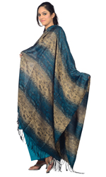 LADIES SHAWLS AND SCARF   :   POLYESTER