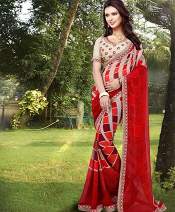 FANCY SAREES   :   GEORGETTE