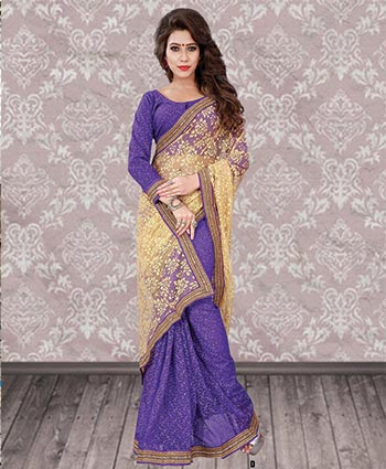 FANCY SAREES   :   NET